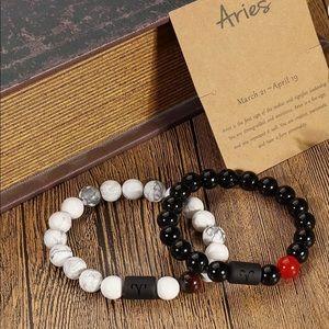 2PCs Zodiac Bracelet for Men or Women